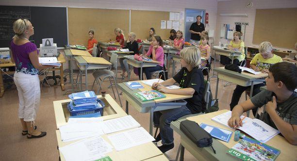 Koululaitos on tehnyt Suomen kuuluisaksi maailmalla. Kuvituskuva.