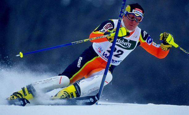 Drago Grubelnik Wengenissä vuonna 2000.