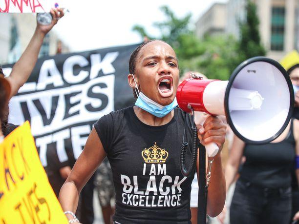 Black Lives Matter -mielenosoitukset ovat jatkuneet Yhdysvaltain pääkaupungissa Washingtonissa ja muun muassa muissa suurkaupungeissa.