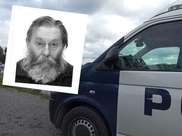Poliisi julkaisi valokuvan kadonneesta Raimo Seppälästä.