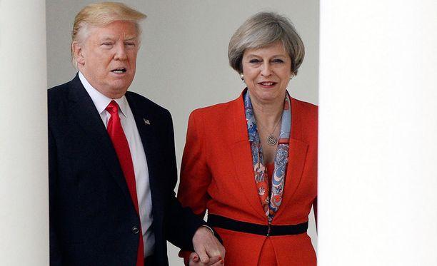 Presidentti Trump ja pääministeri May tapasivat perjantaina Yhdysvaltain pääkaupungissa Washingtonissa.