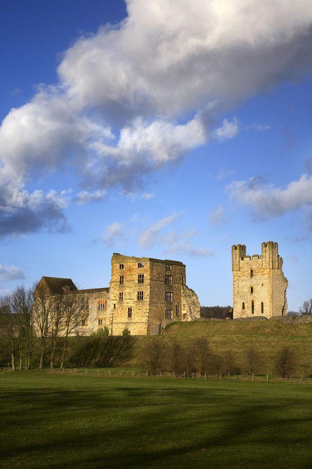 Helmsleyn linna kärsi Englannin sisällissodassa.