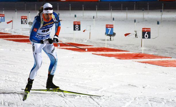Olli Hiidensalo oli parhaana suomalaisena 51:s ampumahiihdon maailmancupin avauksessa Ruotsin Östersundissa.
