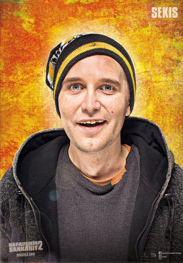Putous-voittaja Joonas Nordman esittää Napapiirin sankarit 2 -elokuvassa rovaniemeläistä sekakäyttäjää.