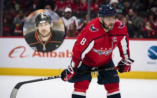 Aleksandr Ovetshkin nousi NHL:n maalitilastossa jo Teemu Selänteen rinnalle – jahtaa nyt isoa päänahkaa
