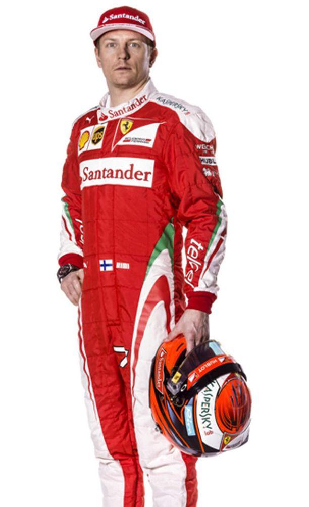 Kimi Räikkönen ja uusi potta.