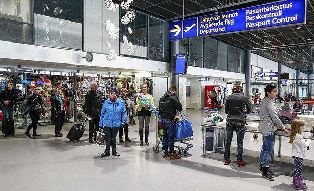 Viime vuonna Lapin kenttien kautta kulki yli 1,3 miljoonaa matkustajaa.
