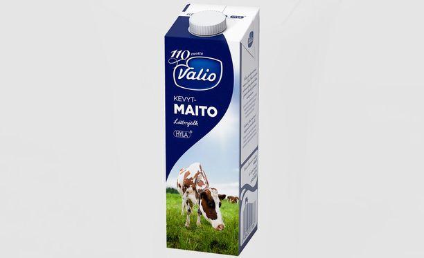 Valio vetää pois erän UHT-käsiteltyä maitoa, jossa parasta ennen -päivämäärä on 21.9.2015.