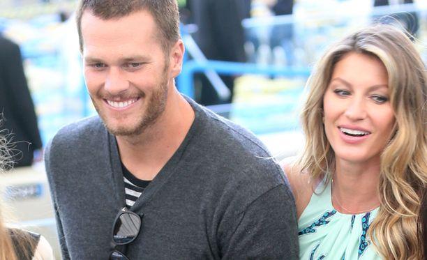 Tom Brady ja Gisele Bündchen ovat olleet naimisissa vuodesta 2009.
