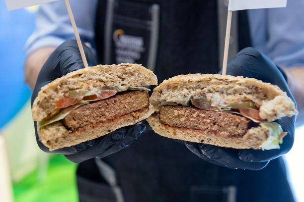 Jos ehdotus hyväksyttäisiin, kasvisburgeria ei saisi kutsua kasvisburgeriksi.