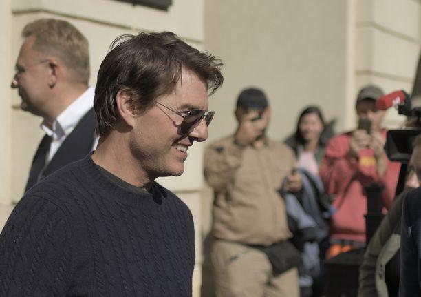 Tom Cruise todellakin haluaa päästä kuvaamaan.