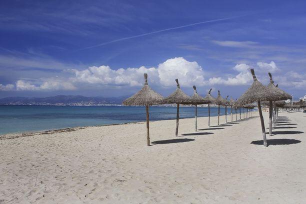 Mallorcalta löytyy useita toinen toistaan ihanampia rantoja.