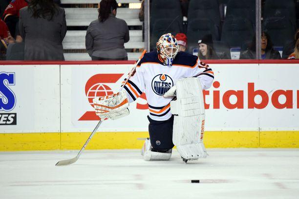 Mikko Koskinen ei ole vakuuttanut Oilers-uransa alkumetreillä.