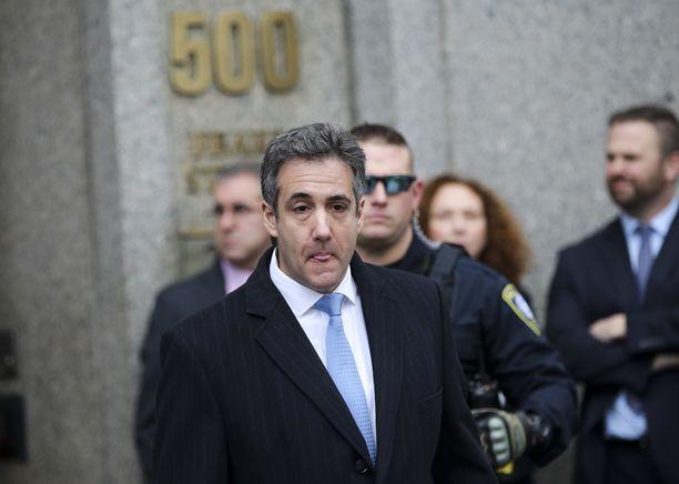 Michael Cohen tuomittiin joulukuussa kolmeksi vuodeksi vankeuteen useista rikoksista.