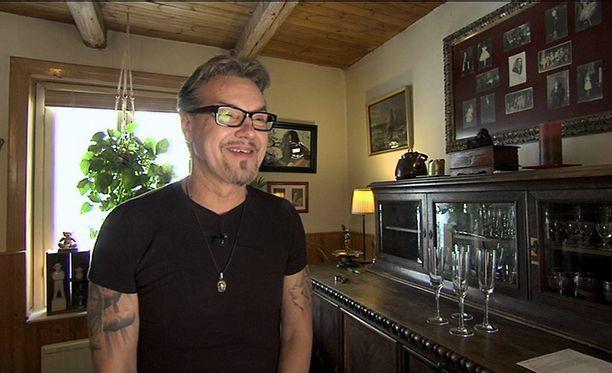 Juha Veijonen on tuttu muun muassa Vares-elokuvista.