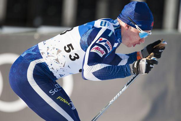 Iivo Niskanen on loistavassa kunnossa. Vauhti kiihtyy myös vapaalla hiihtotavalla lupaavasti ennen MM-Seefeldiä.