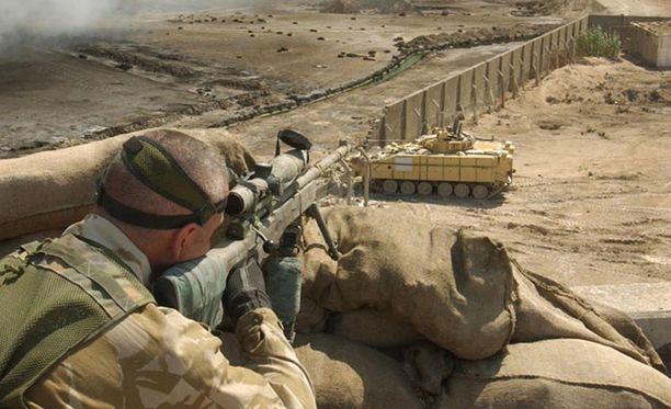 """SAS:n tarkka-ampujan laukausta on kuvattu """"yhdeksi miljoonasta""""."""