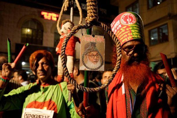 Bangladeshin suurimman islamistipuolueen johtaja Motiur Rahman Nizami hirtettiin keskiviikkona.