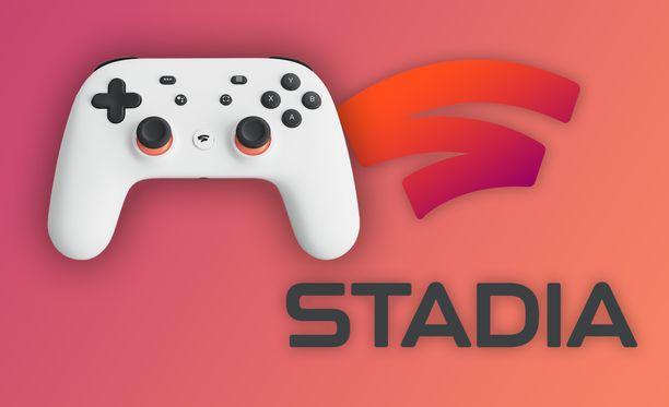 Stadia-pelipalvelu starttaa marraskuussa.