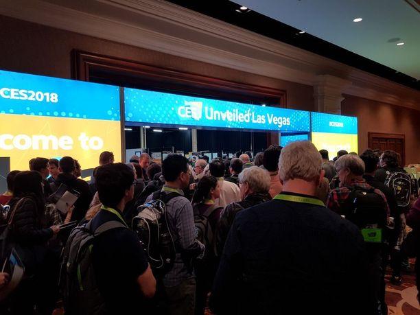 Las Vegasissa 9.-12.1. järjestettävät CES-teknologiamessut keräävät yhteen alan asiantuntijat.
