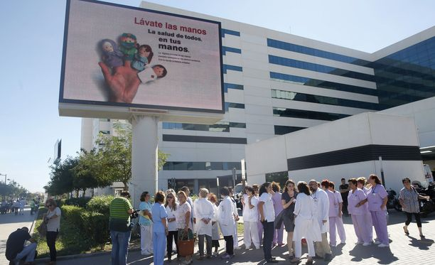 Varkaus tapahtui La Fen sairaalassa Valenciassa. Kuva vuodelta 2014.
