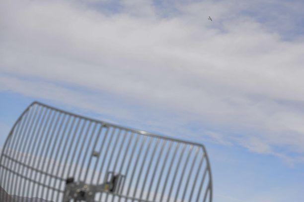 Pohjois-Ruotsissa on havaittu GPS-signaalien häirintää lentoliikenteessä. Kuvituskuva.