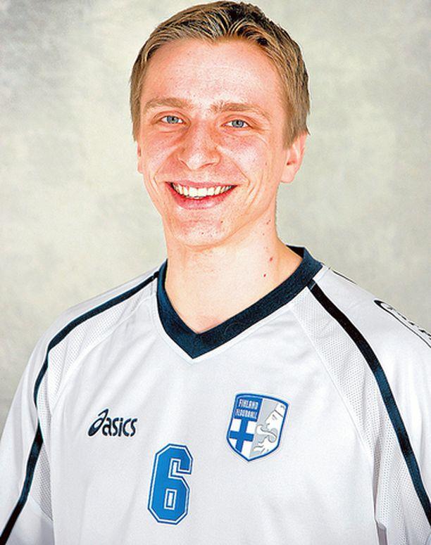 Tero Tiitu teki Suomen voittomaalin.