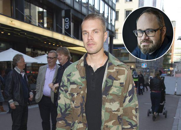 Joonas Loiri ja Tuomas Enbuske olivat läheisiä.