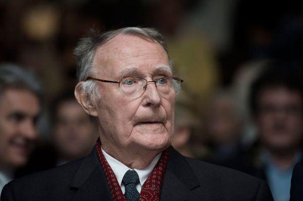 Ikean perustaja Ingvar Kamprad ylsi listalla viidenneksi. Sadan rikkaimman joukkoon ei suomalaisia mahtunut.