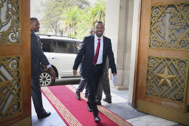 Etiopian uusi pääministeri Abiy Ahmed.