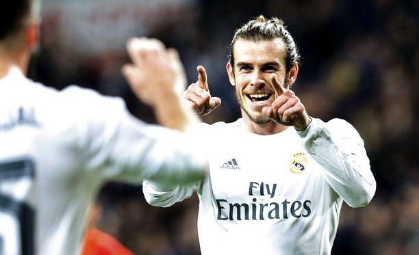 Gareth Bale on maailman kallein jalkapalloilija.