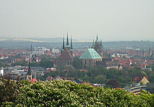 Turma sattui Thüringenin osavaltion Erfurtissa.