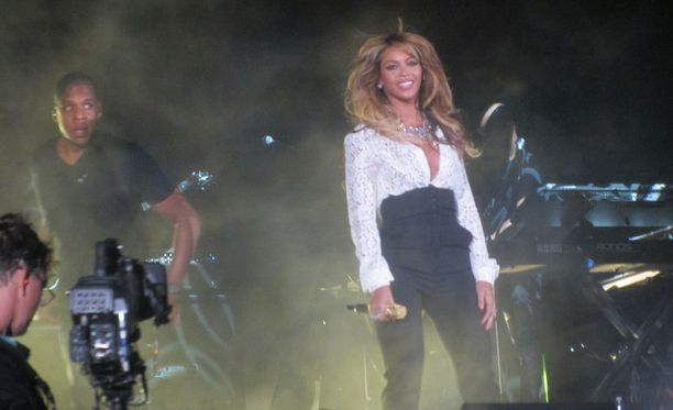 Beyonce ja Jay Z esiintyivät Global Citizen -lavalla.