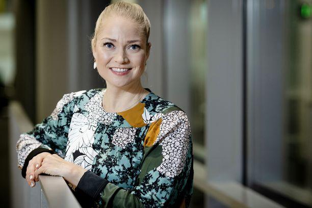 Pippa Laukka on suomalaisille tuttu tv:stä.
