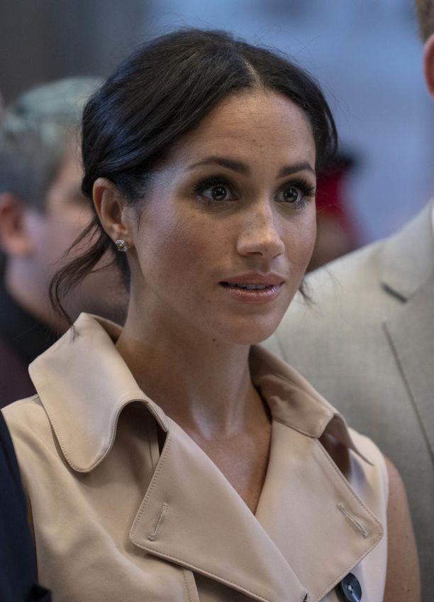 Sussexin herttuatar Meghan ei kykene luottamaan isäänsä tällä hetkellä.