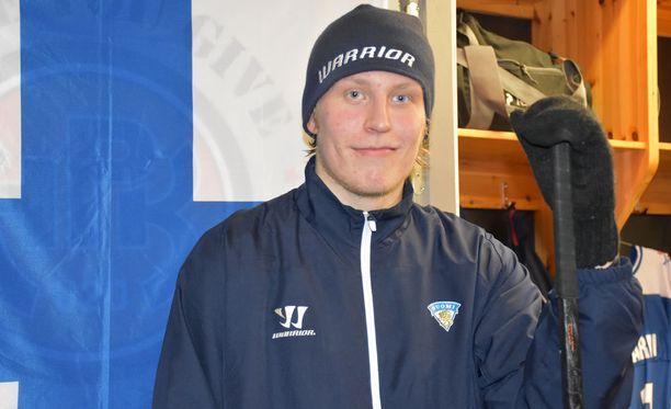 Patrik Laineen kaksi maalia ratkaisivat voiton Ruotsista.