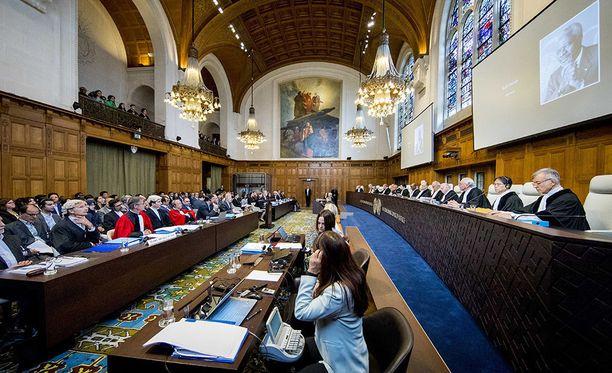 Yhdysvaltojen Iranille määräämiä talouspakotteita käsiteltiin tänään YK:n kansainvälisessä tuomioistuimessa.