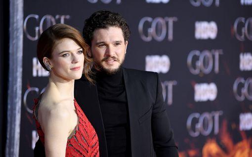 Game of Thrones -tähtien vauva syntyi