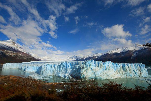 Patagonian jäätiköt ovat vaarassa sulaa pois.