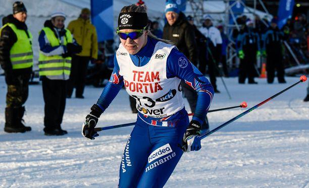 Anita Korva saavutti pronssia nuorten MM-kisoista.