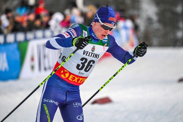 Matti Heikkinen nähtäneen seuraavan kerran kisaladulla viikon päästä Davosissa.