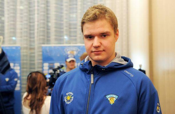 Aleksander Barkov juniorilla on selvä tavoite nuorten MM-turnauksessa.