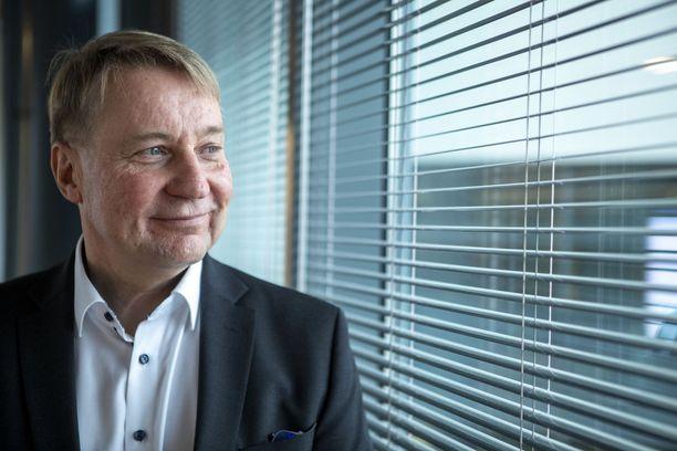 Mobidiacin toimitusjohtaja Tuomas Tenkanen.