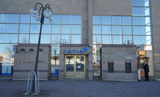 Nurmijärven Nordea-konttori ryöstettiin maanantaina.