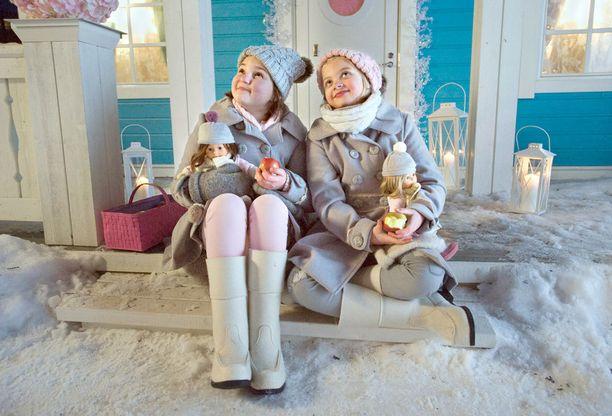 Onnelin ja Annelin talvi perustuu Marjatta Kurenniemen kirjaan.