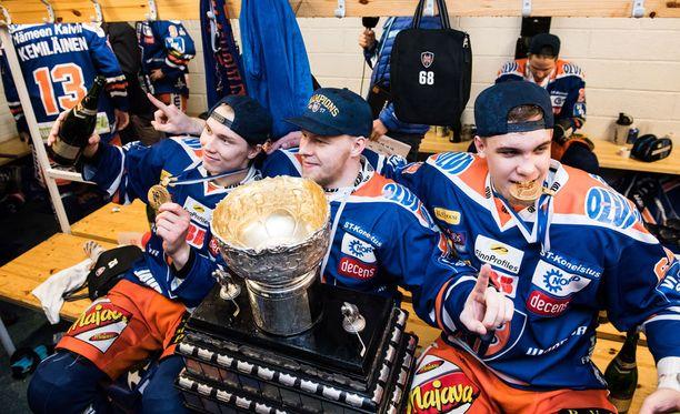 Tapparan pelaajat eivät saaneet ruokaa Kuopiossa.