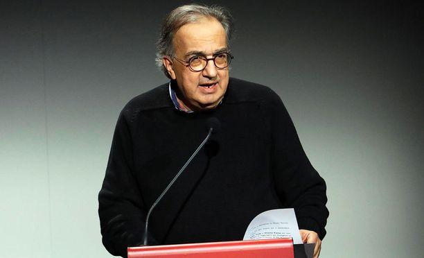 Sergio Marchionne on ottanut aggressiivisen taktiikan käyttöönsä.