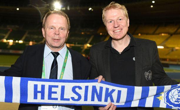 Pääomistaja Olli-Pekka Lyytikäisen ja toimitusjohtaja Aki Riihilahden bisnes kukoistaa.