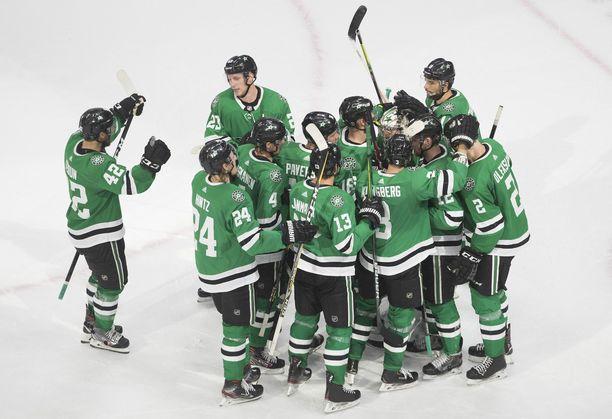 Dallas Stars on lähellä jatkopaikkaa NHL:n pudotuspeleissä.