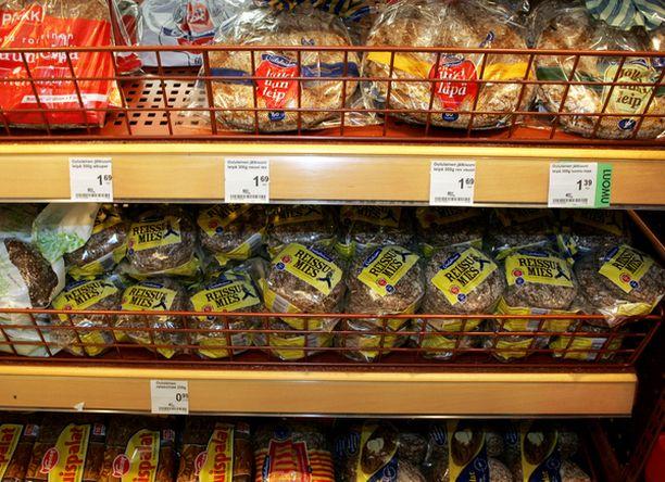Helsingin kaupungin ympäristökeskus tutki suolan määrää ruokaleivässä.